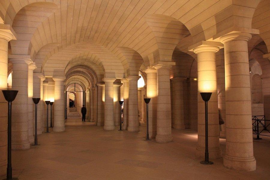 panthéon crypte