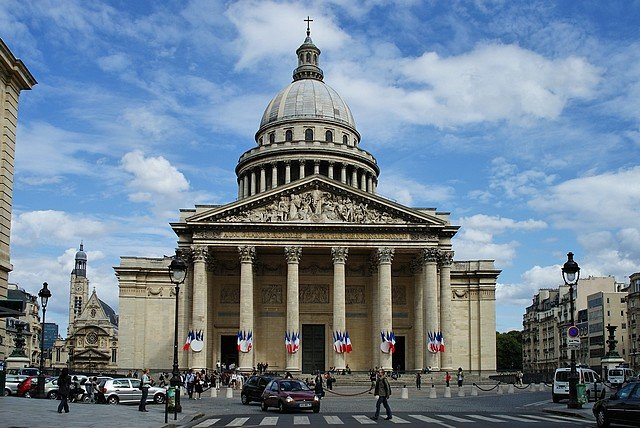 pantheon façade