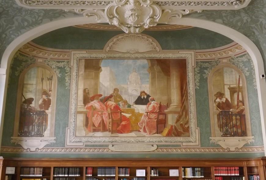 bibliothèque sorbonne 3