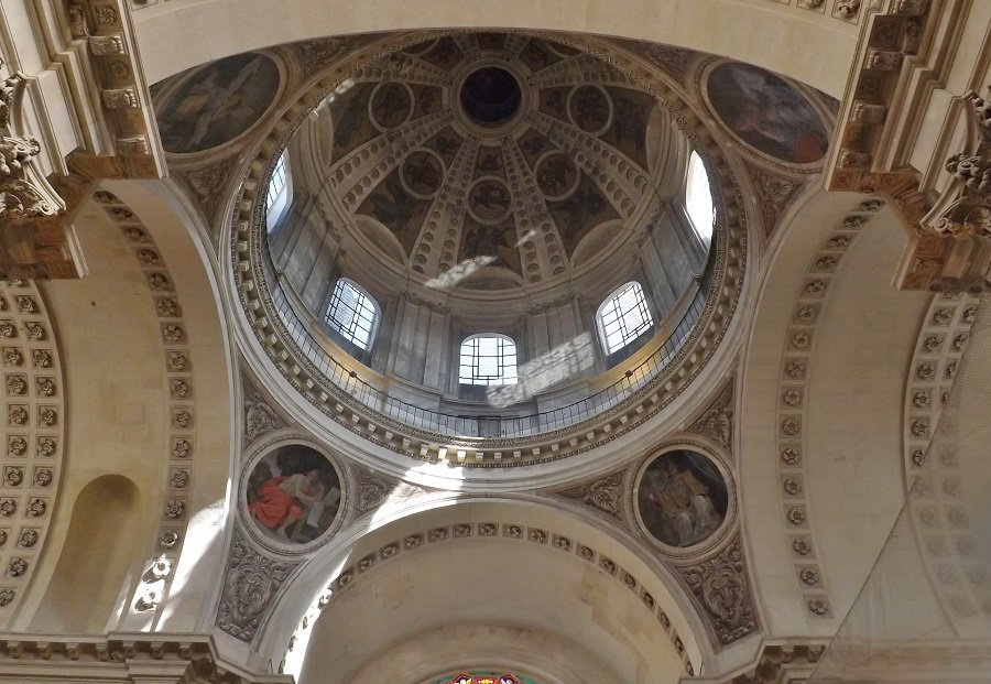 chapelle sorbonne vue générale coupole