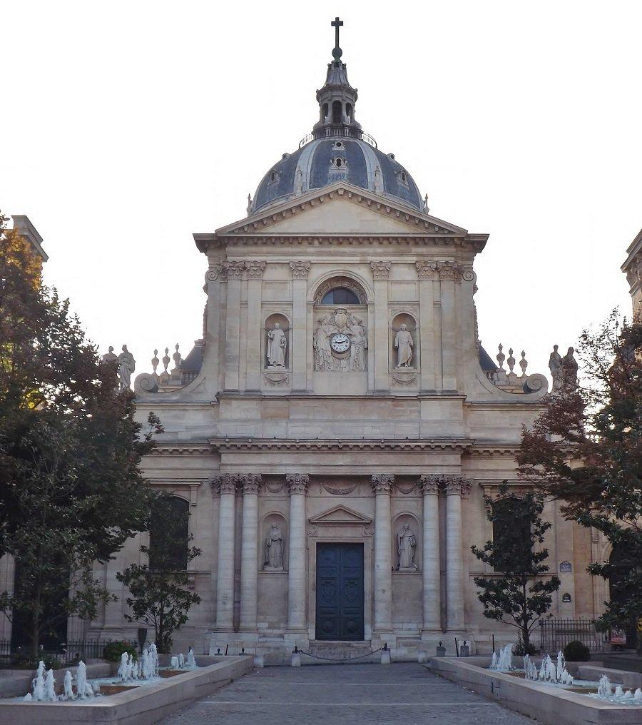 façade chapelle sorbonne