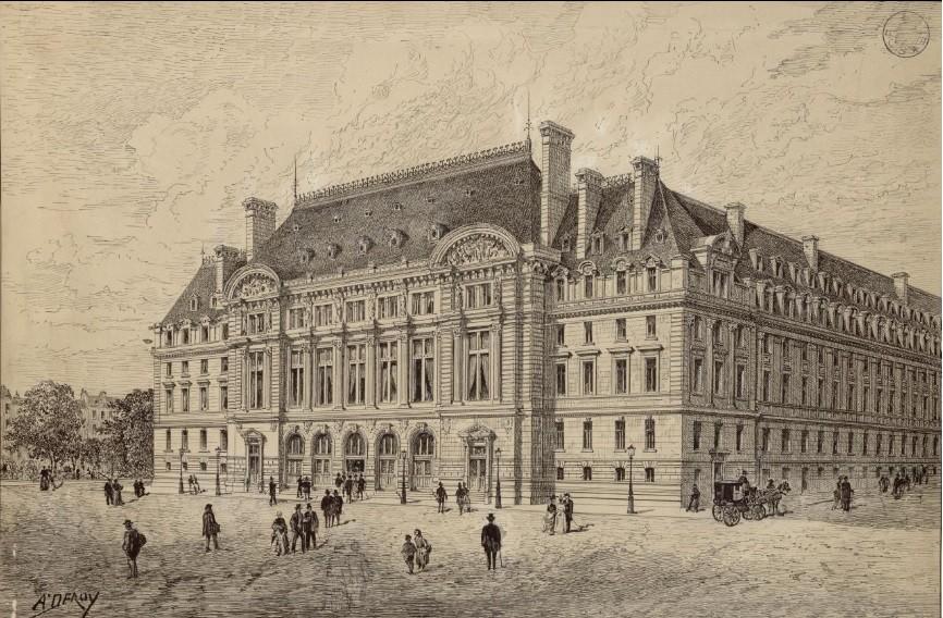 façade palais académique