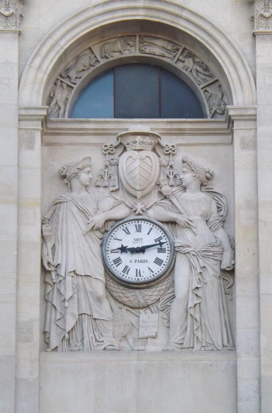 horloge chapelle sorbonne