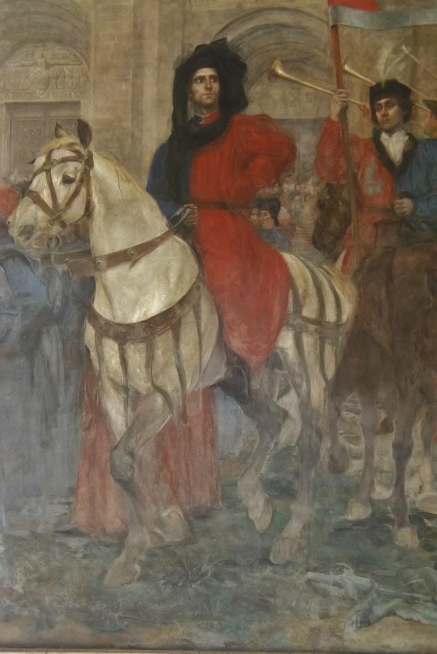 peinture galerie R de Sorbon