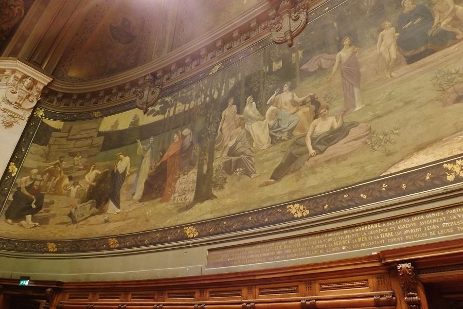 peinture grand amphithéâtre